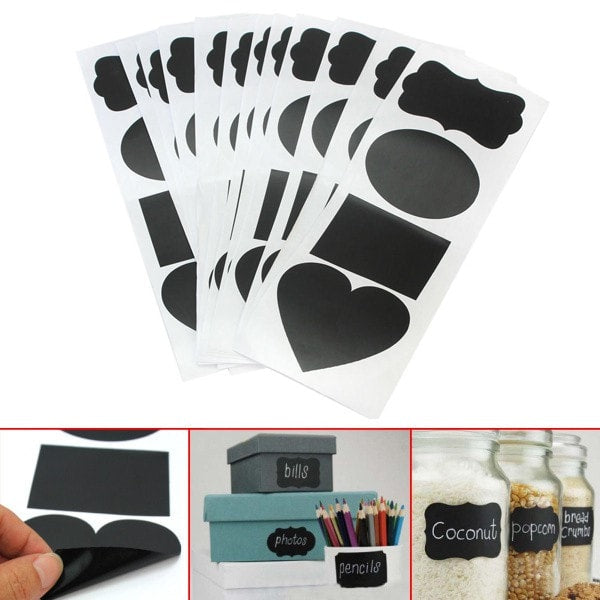 Chalkboard Tags - 48 Pieces