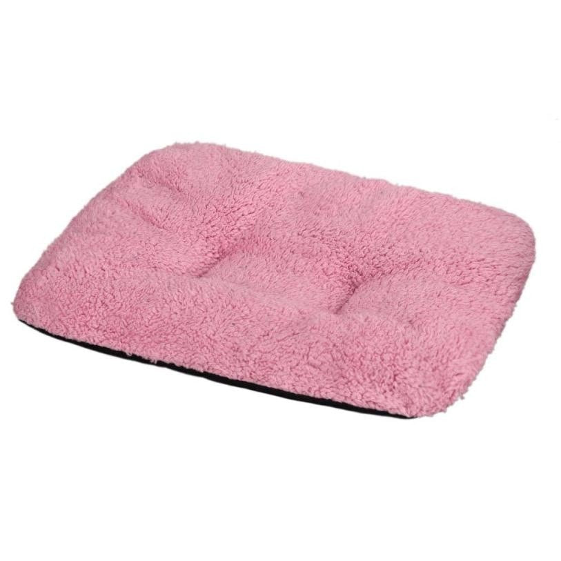Pet Cushion Dog Bed Soft Warm Sleep Mat Fashion Plush Carpet