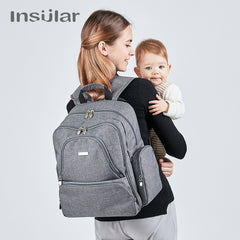 Insulated mummy maternity Travel backpack nappy bags baby stroller bags