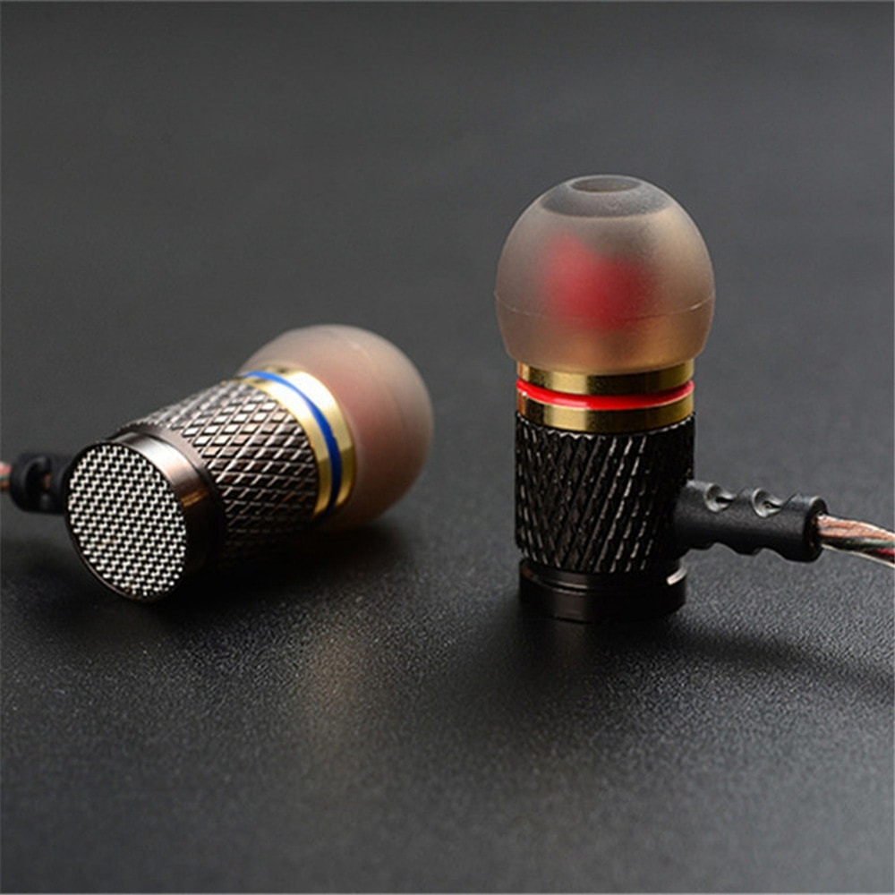 Professional Metal Heavy Bass In-Ear Earphone
