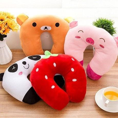 Cartoon Neck Sleeping Pillow