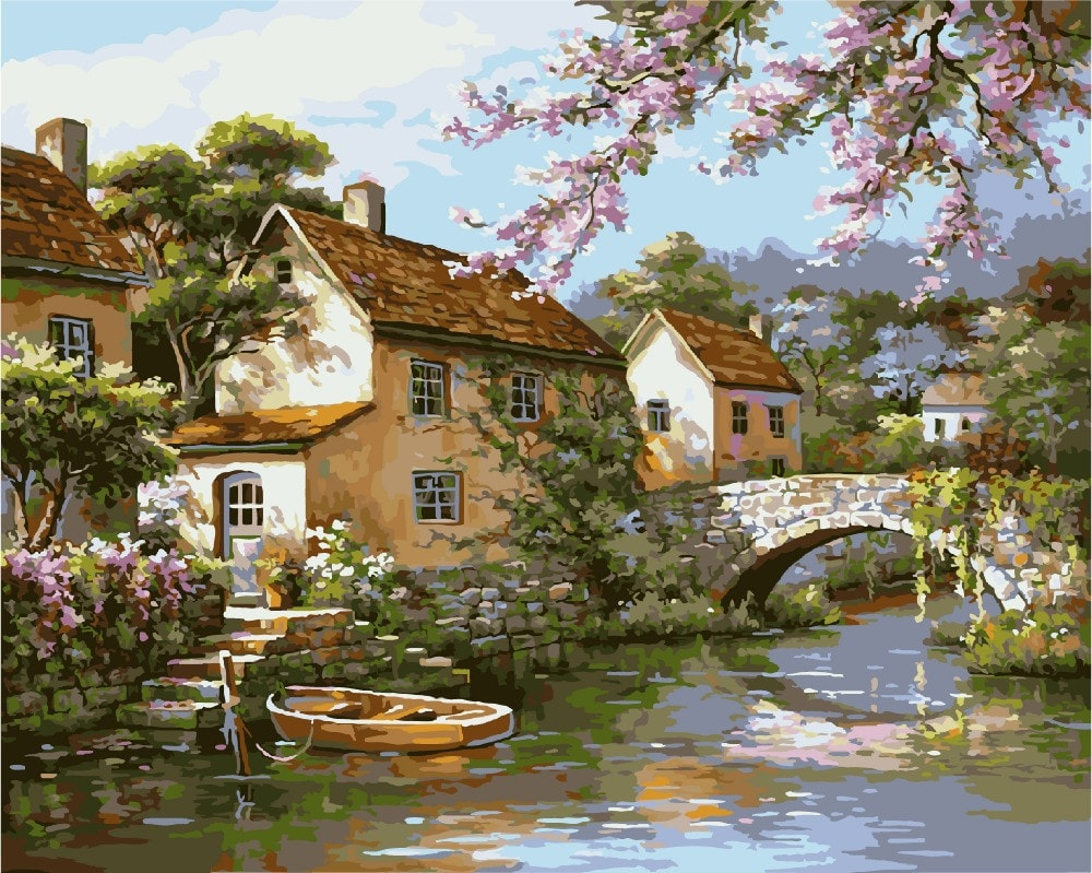 "Landscape ""Painting By Numbers Kit"""