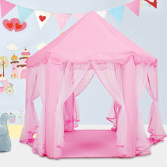Lovely Pink Princess Castle Playhouse
