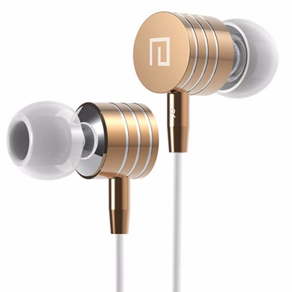 Metal Stereo Bass In-Ear Headset With Mic