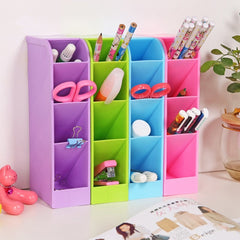 Colorful Multifunctional Plastic Storage Box Organizer