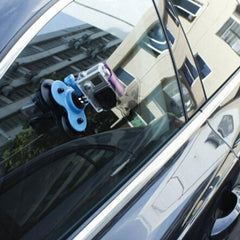 Low Angle Removable Triple Suction Cup Mount Holder