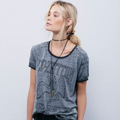 Leather Black Bow Choker DIY Necklace