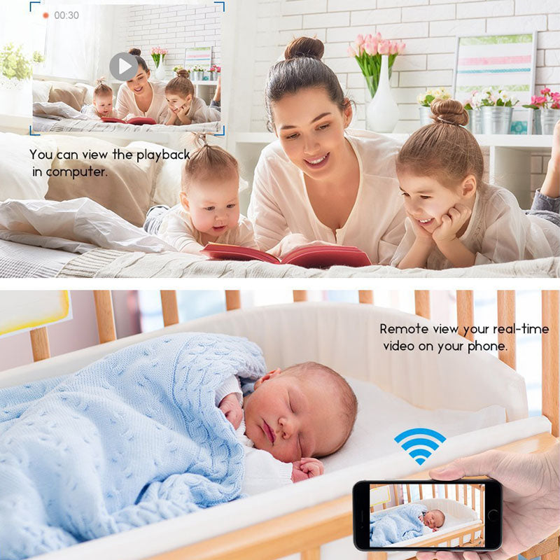 Baby Monitor Mini Wifi Cameras Wireless Remote Camera