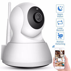 Pet Camera-Night Vision Baby Monitor Home Security IP Camera   Wireless Network Camera CCTV Camera Surveillance