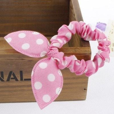 Girl Elastic Rabbit Ear Headband