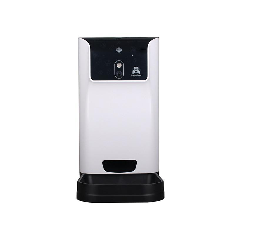 Automatic Pet Feeder-Smart Pet Feeder Pet WIFI 2.4GHz Camera Support Remotely Feeding Schedule Wide-angle Lens