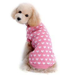 Polka Hearts Soft Padded Vest Pets Clothing