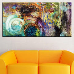 Abstract Art Painting Print On Canvas