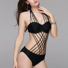 Alexa - Crossed Straps Swimsuit