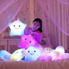 Star Glowing Pillow