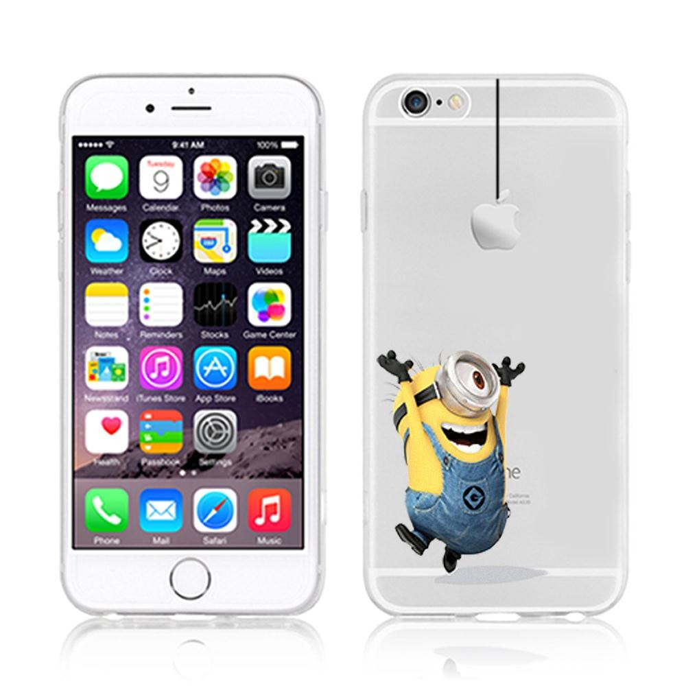 iPhone Case 6/6S Despicable Me Minion Design Case Cover
