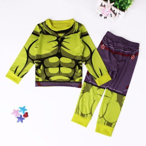 Boys Superhero Pyjamas Suits