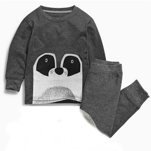 Cute Raccoon / Bear Pyjama Set