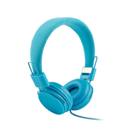 Full Color Folding Stereo Headphones with Microphone Cable Control
