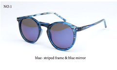 Fashion multicolour Round Sunglases