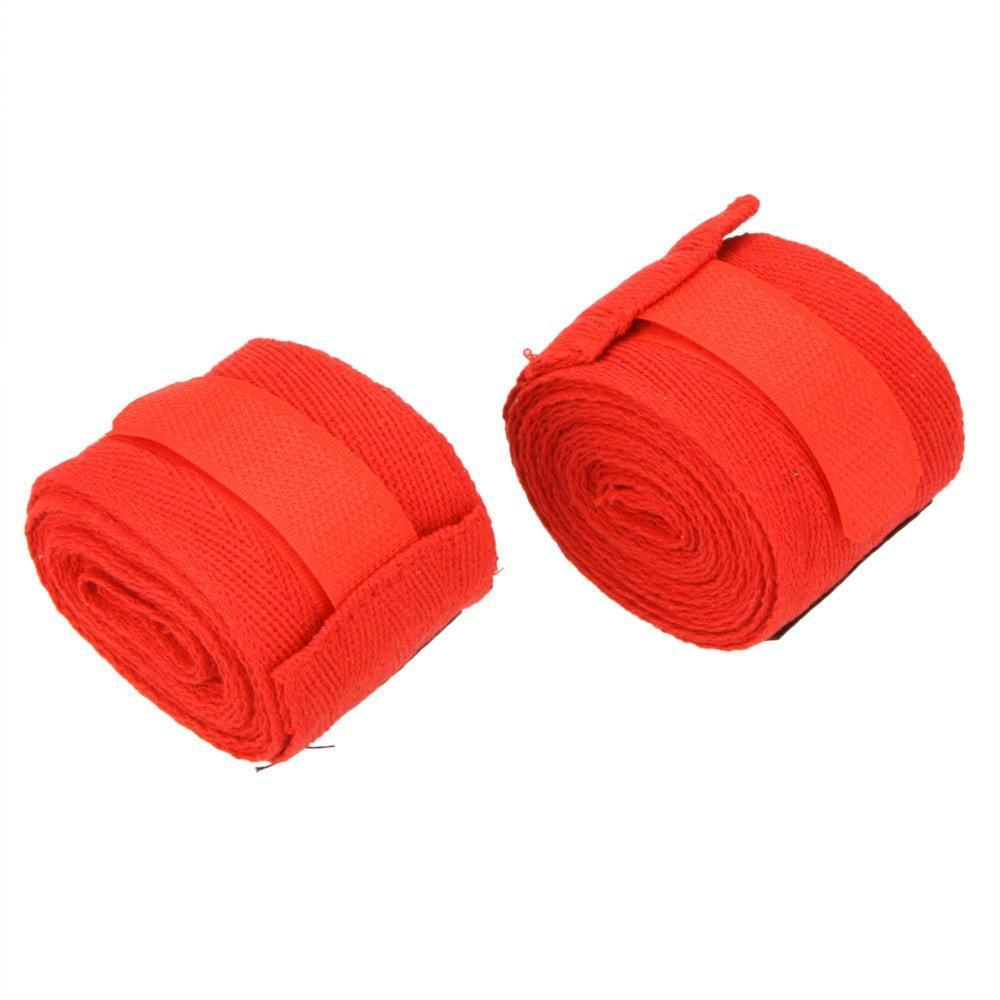 Sports Strap Boxing Bandage - Hand Gloves Wraps - 2pcs/roll Width 5cm Length 2.5M - Cotton - Sanda Muay Thai, MMA, Taekwondo