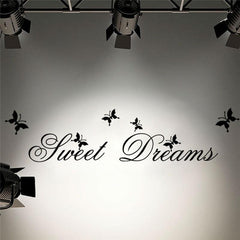 Sweet Dreams Quotes Wall Sticker