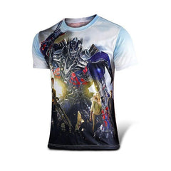 Comics Full Picture Fitness Quick Dry T-shirt