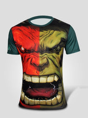 Marvel / Avengers Superhero Men Short Sleeve T Shirt - Quick dry