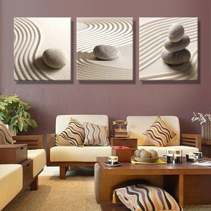 3 Panel Nature Wall Canvas Prints