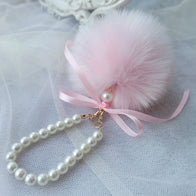 *FREE* Cute & Fashion POM POM Fur Ball Key Chain Imitate Rabbit Fur