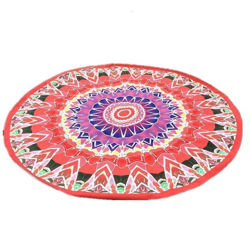 Indian Batik Mandala Round Beach Pareo