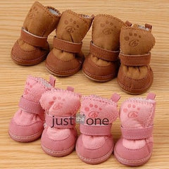 Puppy Winter Warm Soft Cotton Boots