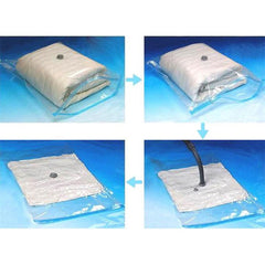 Transparent Home Storage Compression Vacuum Bag
