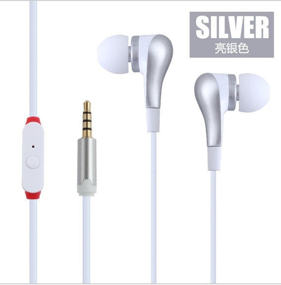 Stereo Earbud With Mic for Mobile Phone