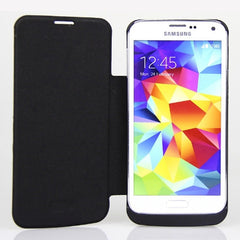 * Samsung Case *  Galaxy S5 Backup Battery Case 3800mAh Power Bank with Flip Cover
