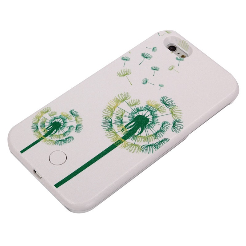 * iPhone Case*  6/ 6s/ 6Plus Selfie Light LED Flash Case with Back Pattern