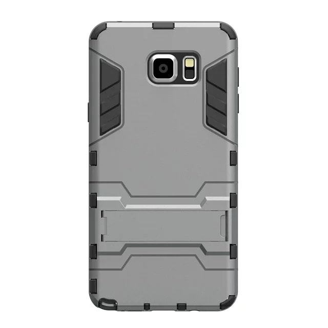 * Samsung Case * Note 5 Hybrid 2 in 1 Case With Stand Flexible Armor