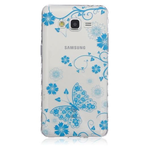 FREE * Samsung  Case * Galaxy Grand Prime - Fashion Skid Clear Soft Silicone Case