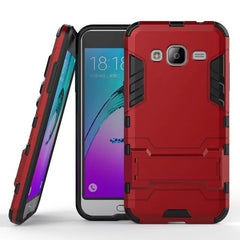 * Samsung  Case * J Series Armor Heavy Duty Hybrid Hard Rugged Phone Cover Soft Gel + Kickstand