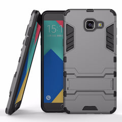 * Samsung  Case * Galaxy AS5 - Armor Heavy Duty Hybrid Hard Rugged Phone Cover Soft Gel + Kickstand