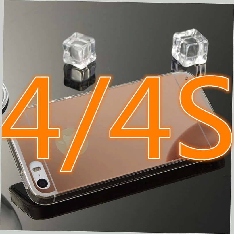 * iPhone Case*  Luxury Mirror Electroplating Soft Clear TPU Cases