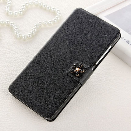 * Samsung  Case * Galaxy A3 A3000 -  Luxury Flip Cover with Diamond Buckle