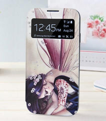 * Samsung  Case * Galaxy S4 SIV i9500 - 22 Styles Painting  Shell and Leather Flip Cover