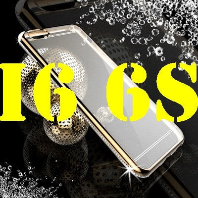* iPhone Case* 6 6S 4.7/ Plus 5.5  Luxury Bling Diamond Transparent Frame