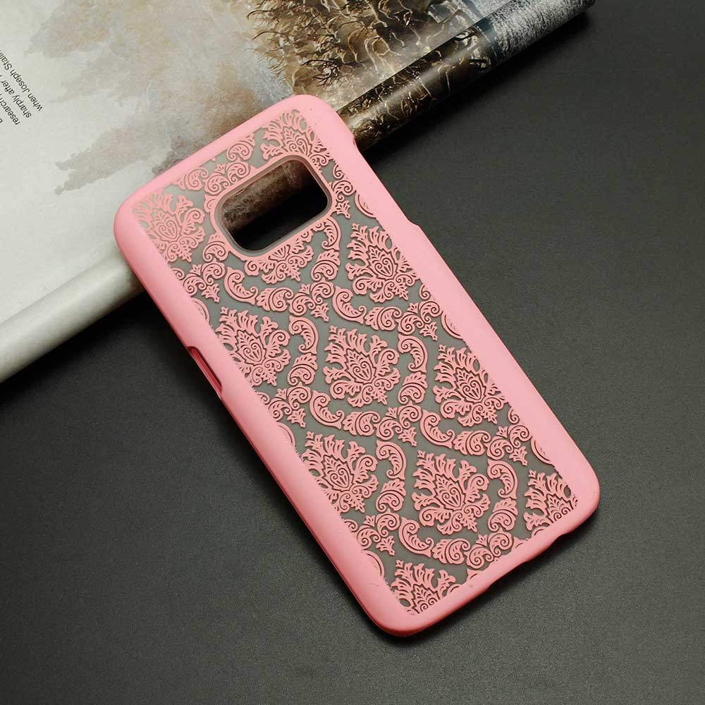 FREE * Samsung  Case * Galaxy A3 A3000/A5 - Rubberized Damask Pattern Engraved Matte Case + Protective Film