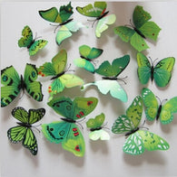 3D Butterfly Wall Decor Stickers