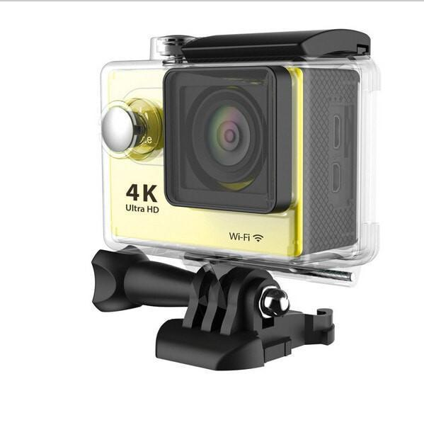 ProCam 4K/1080p Ultra HD Sports Camera - 12MP - 2 in. Screen - WIFI - 170 Degree Lens- By Epiktec