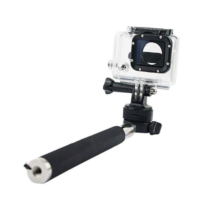 ProCam Monopod Aluminium Handheld With Tripod Mount Adapter - Compatible With Other Extreme Sports cameras
