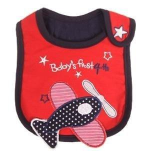 Baby Waterproof 3 Layer Lunch Bibs