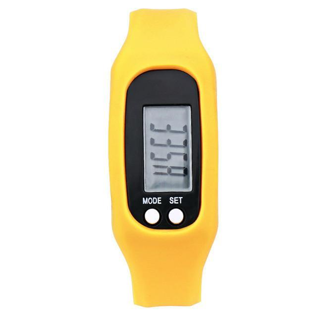 Digital LCD Pedometer Watch